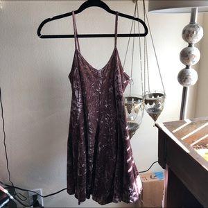 Cotton Candy Velvet Dress